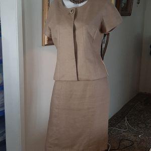 Vintage Planet Linen Suit